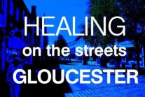 healing on the streets gloucester logo